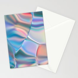 Iridescent Foil Stationery Cards