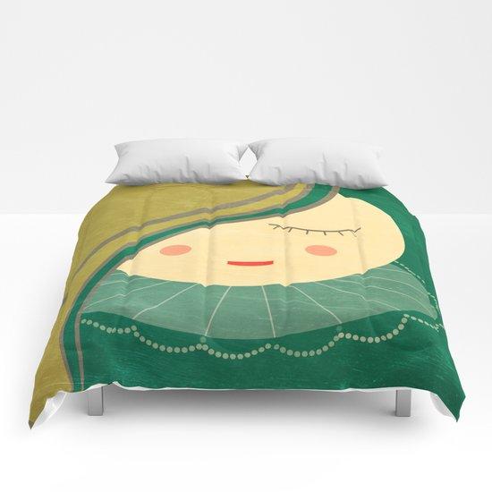 i guess i need to sleep Comforters
