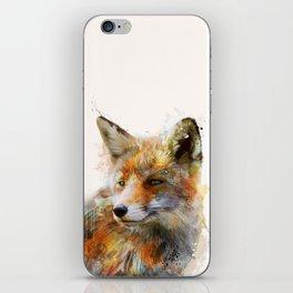The cunning Fox iPhone Skin