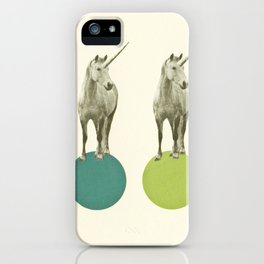 Unicorn Parade iPhone Case