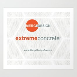 extremeconcrete tm Art Print