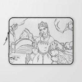 Ann Boleyn Line Art Laptop Sleeve
