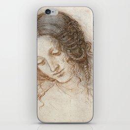 Leonardo da Vinci - Head of Leda iPhone Skin