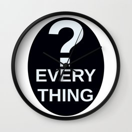 ? Everything Wall Clock