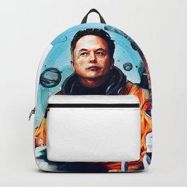 Astronaut Elon Musk Backpack