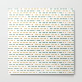 I Love You Morse Code Metal Print