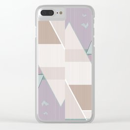 Pastel tone . Abstraction . Clear iPhone Case