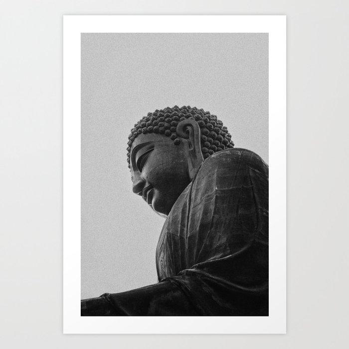 Iron Buddha Art Print
