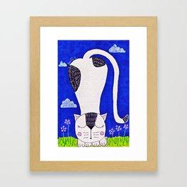 CuteKitty Framed Art Print