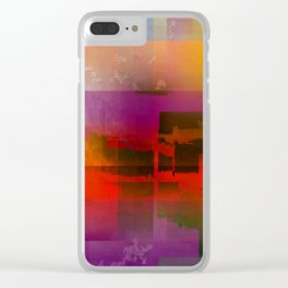 coming storm 3a Clear iPhone Case