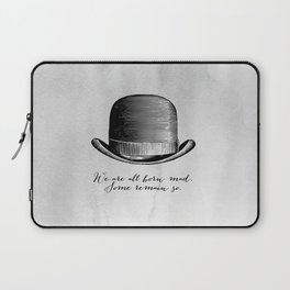 Waiting for Godot - We Are All Born Mad Laptop Sleeve