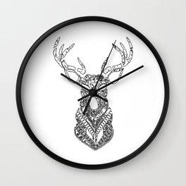 Christmas Reindeer Decorative Art Wall Clock