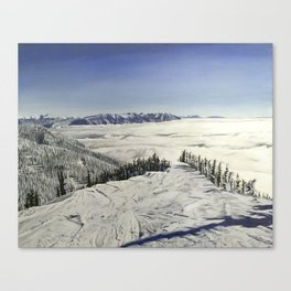 Inversion on Inspiration Canvas Print