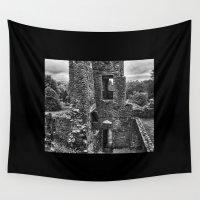 irish Wall Tapestries featuring Irish Castle by Sharon Popek
