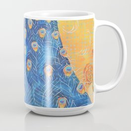 Peacock - The Protector Coffee Mug