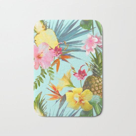 Tropical summer Bath Mat