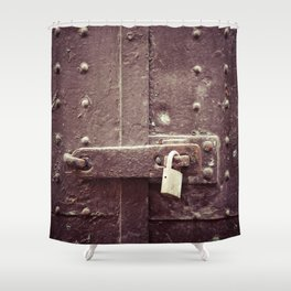 Locked Shower Curtain