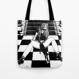 asc 461 - La fille du concierge (Troublemaker at The Saint James) Tote Bag