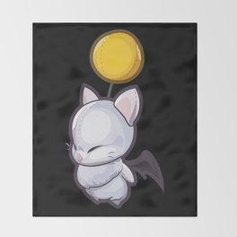 Wind-Up Moogle Minion Throw Blanket