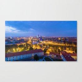 Vilnius Lithuania Ultra HD Canvas Print