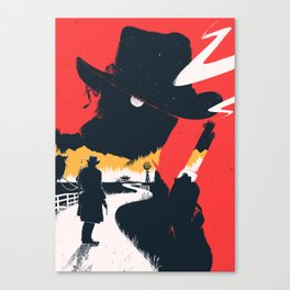 Red Dead 2 Canvas Print