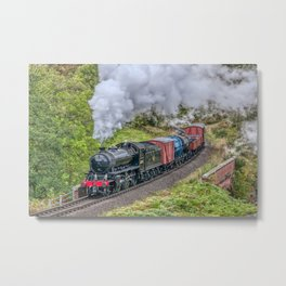 62005 K1 Class Goods Train Metal Print