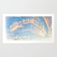 Afternoon Sky Panorama Art Print