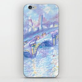Recomposed: Waterloo Bridge, Sunlight Effect iPhone Skin