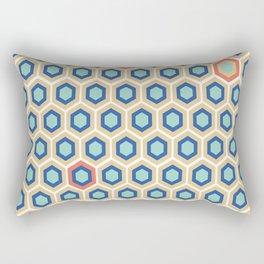 Digital Honeycomb Rectangular Pillow