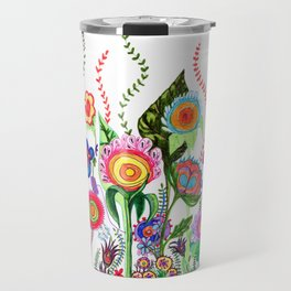 FLOWERS IN MEXICO Travel Mug