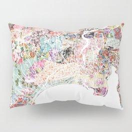 Nice map Pillow Sham