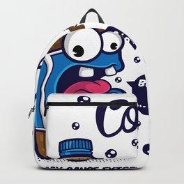 Blue Cola Addict Backpack