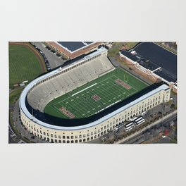 Harvard Stadium From Above Rug