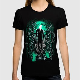 Slender Man (sea green color) T-shirt