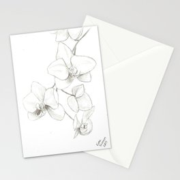 Orchids Sketch Stationery Cards