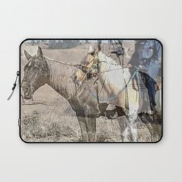 She never rides alone Laptop Sleeve