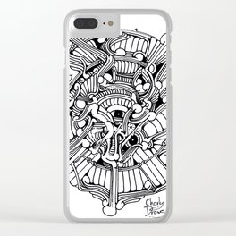 Charly Draws Clear iPhone Case