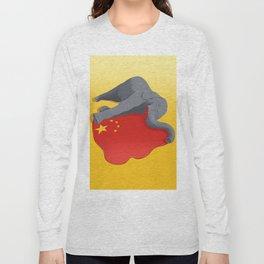 Stop Ivory Trade Long Sleeve T-shirt