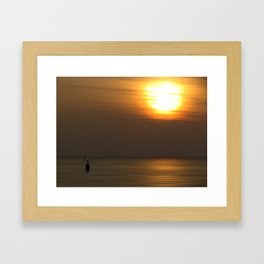 Lone Figure Framed Art Print