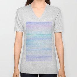 Color Clouds Unisex V-Neck