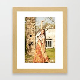 Of the Queen Heart High Framed Art Print