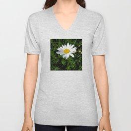 Daisy Unisex V-Neck