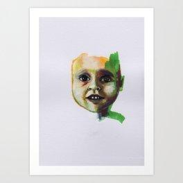 Petites têtes 10 Art Print