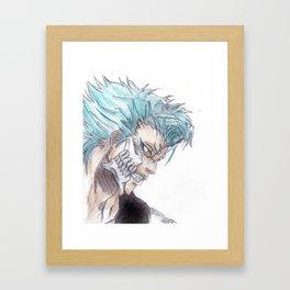 Grimmjow Bleach  Framed Art Print