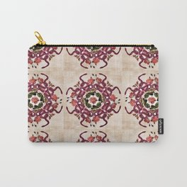 Deadly Roses Quilt Pattern Carry-All Pouch
