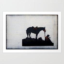 Cowpoke Art Print