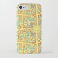 safari iPhone & iPod Cases featuring Safari by Kancata