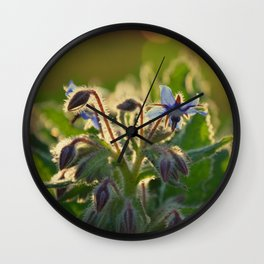 The Beauty of Weeds Wall Clock