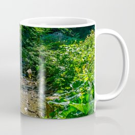 Small Creek in the Forest Coffee Mug