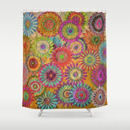 Mysterious Mandalas Shower Curtain